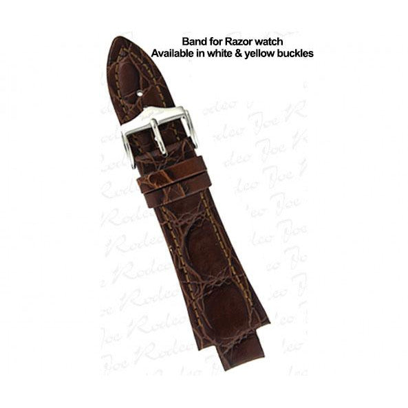 Razor Brown Leather Band