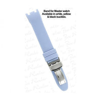 Master Lady Light Blue Rubber Band