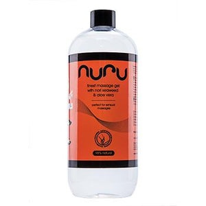 Nuru - Massage Gel with Nori Seaweed & Aloe Vera 1000 ml - Zazoobi
