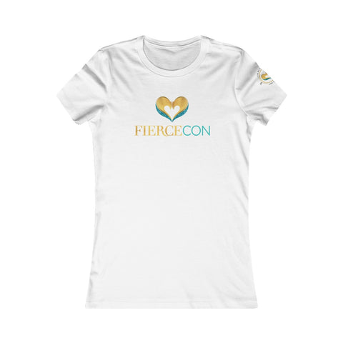 FierceCon White Tee Women's