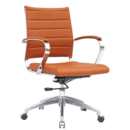 Fine Mod Imports Sopada Conference Office Chair Mid Back, Light Brown