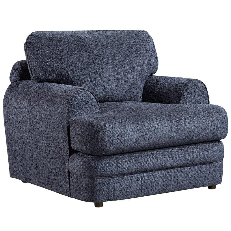 Flash Furniture 4651CALIBERNAVY-GG Exceptional Designs by Flash Caliber Navy Chenille Chair