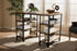 Wholesale interiors Pepe Rustic Industrial Metal and Distressed Wood Storage Desk YLX-5001-Desk