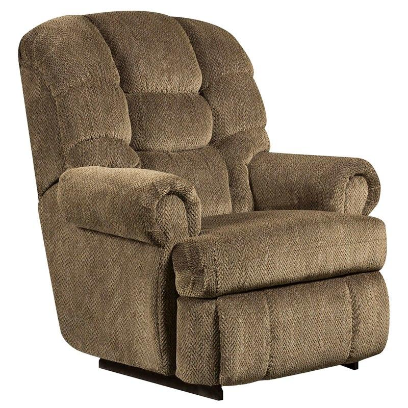 Flash Furniture AM-9930-7980-GG Big & Tall 350 lb. Capacity Gazette Basil Microfiber Recliner