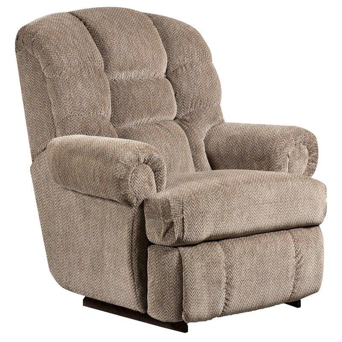 Flash Furniture AM-9930-9922-GG Big & Tall 350 lb. Capacity Gazette Pewter Microfiber Recliner