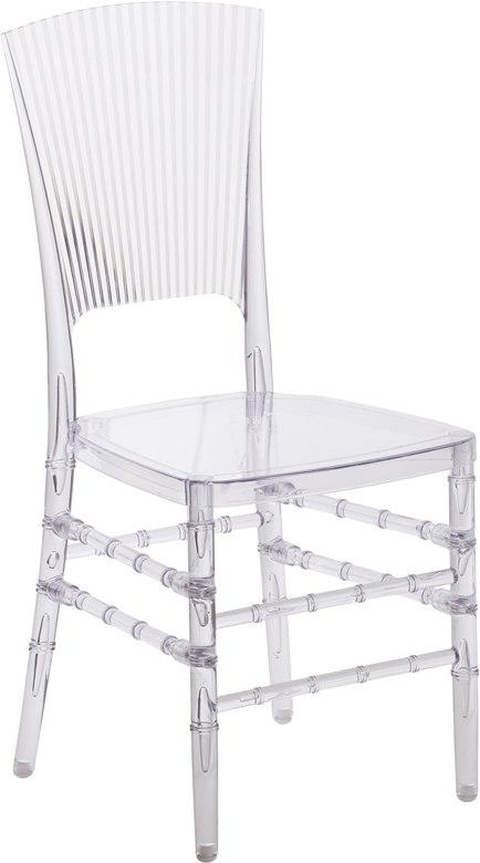Flash Furniture BH-H006-CRYSTAL-GG Flash Elegance Crystal Ice Stacking Chair