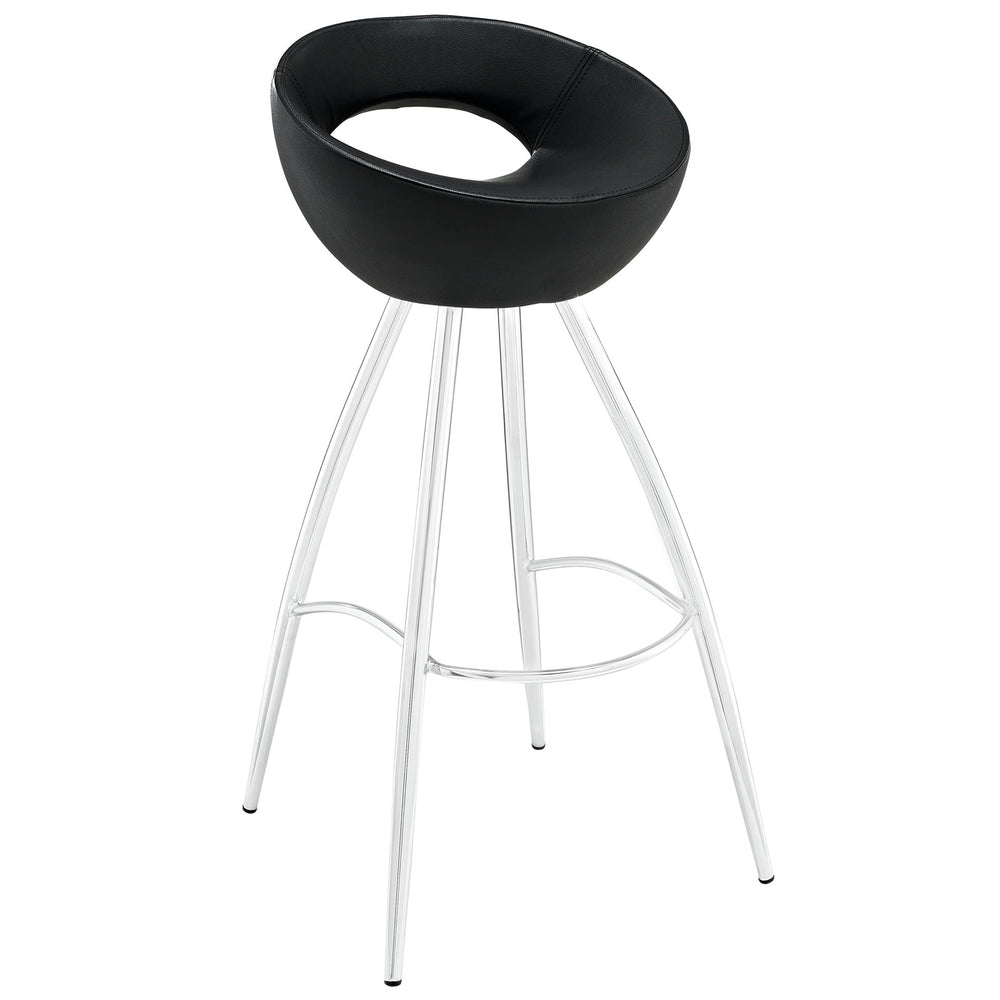 Modway Persist Bar Stool in Black