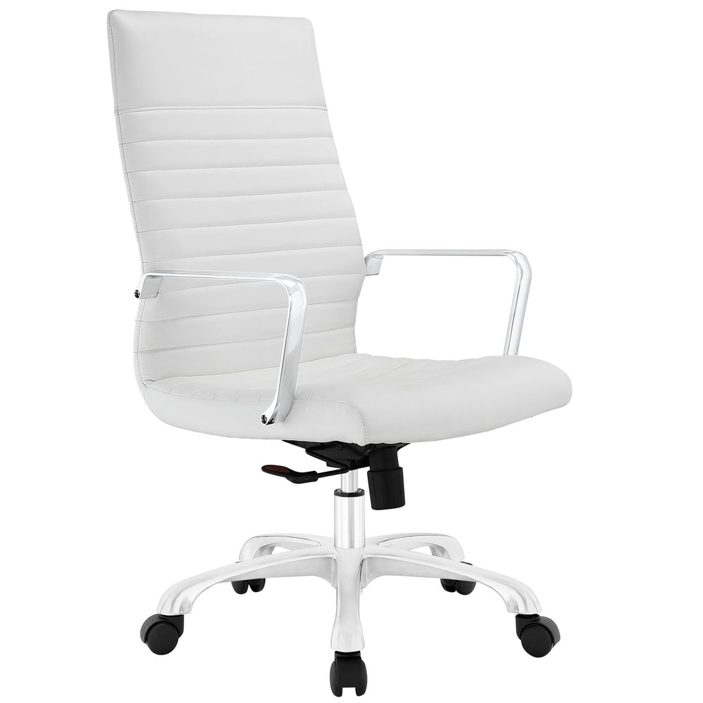 Finesse Highback Office Chair in White by Modway
