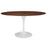 "Lippa 60"" Oval Walnut Dining Table in Walnut by Modway"