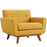 Engage Upholstered Fabric Armchair in Citrus by Modway