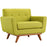 Engage Upholstered Fabric Armchair in Wheatgrass by Modway