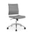 Jive Armless Mid Back Office Chair in Gray by Modway