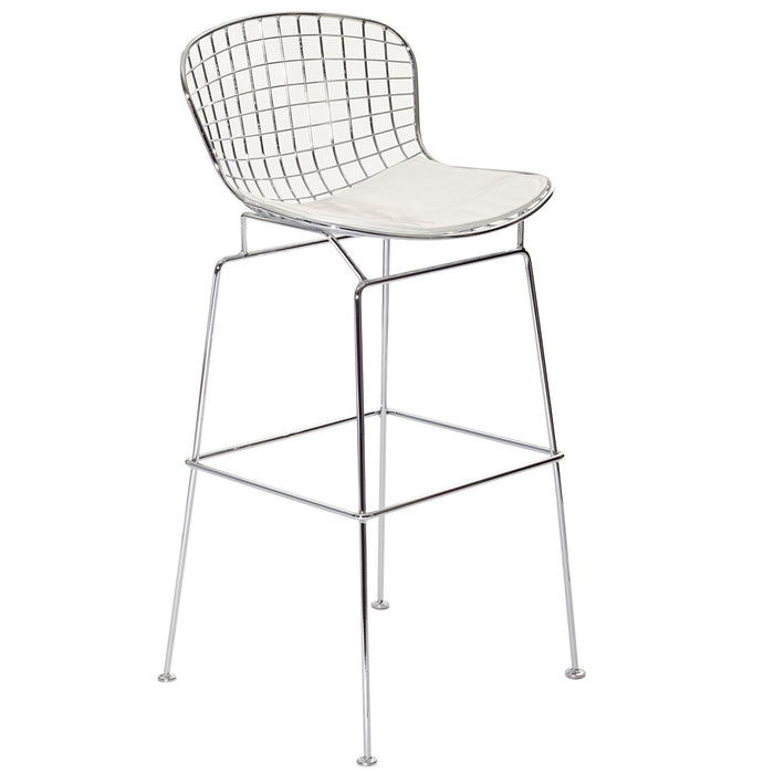 CAD Bar Stool in White by Modway
