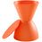 Haste Stool in Orange by Modway