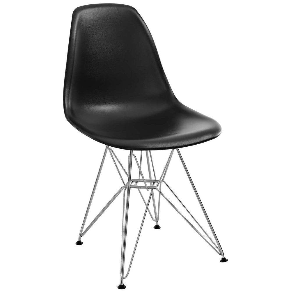 Paris Dining Side Chair in Black by Modway