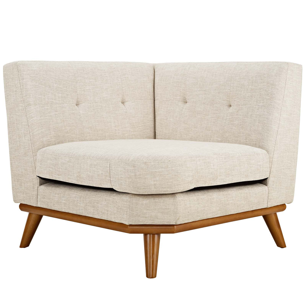 Engage Corner Sofa in Beige by Modway