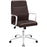 Stride Mid Back Office Chair in Brown by Modway