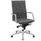 Pattern Highback Office Chair in Gray by Modway