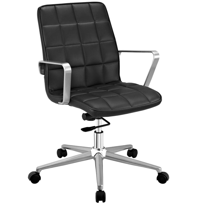 Tile Office Chair in Black by Modway
