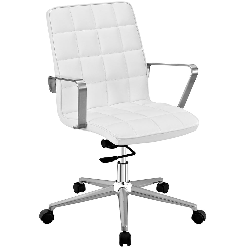 Tile Office Chair in White by Modway