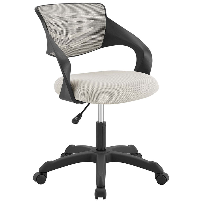 Modway Thrive Mesh Office Chair in Gray