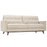 Modway Prompt Upholstered Fabric Sofa in Beige
