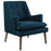 Modway Leisure Upholstered Lounge Chair in Azure