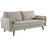 Modway Revive Upholstered Fabric Sofa in Beige