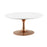 "Modway Lippa 36"" Coffee Table in Rose White"