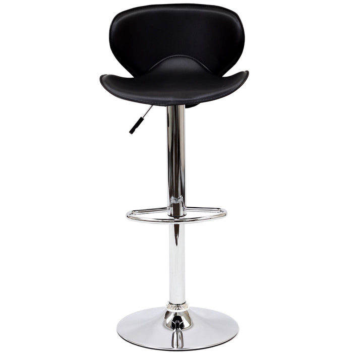 Modway Booster Bar Stool in Black