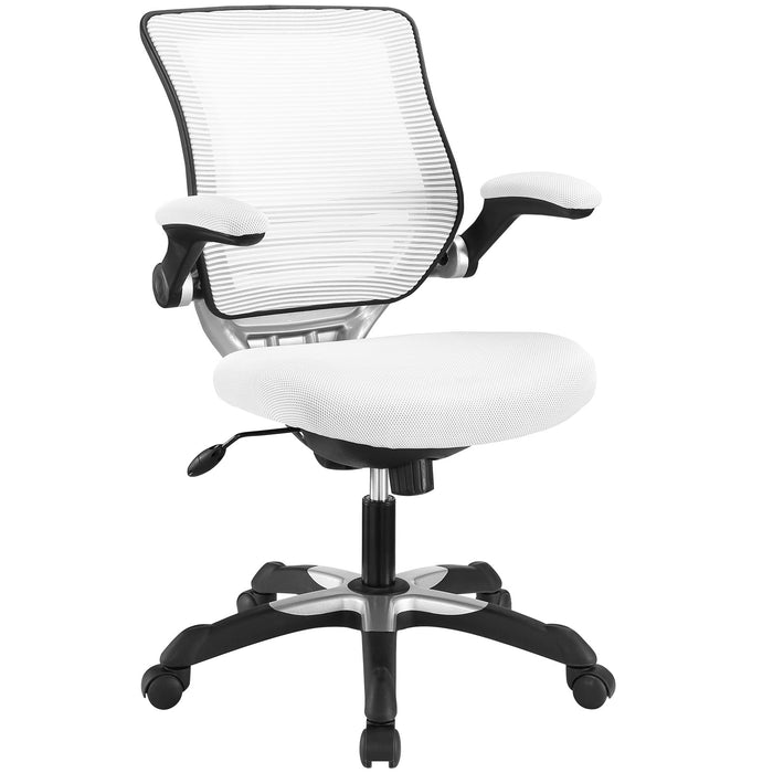 Modway Edge Mesh Office Chair in White