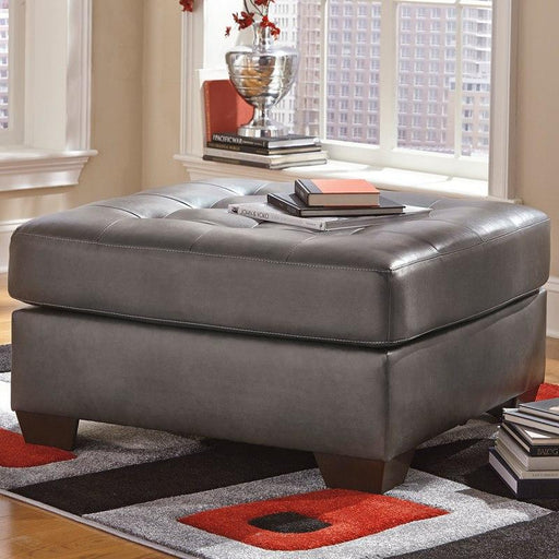 Flash Furniture FSD-2399OTT-GRY-GG Signature Design by Ashley Alliston Oversized Accent Ottoman in Gray DuraBlend
