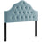 Modway Sovereign Full Diamond Tufted Performance Velvet Headboard in Light Blue