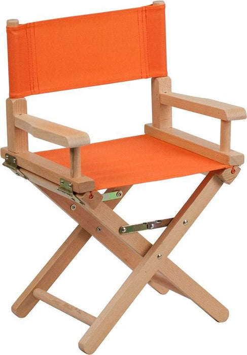 Flash Furniture TYD03-OR-GG Kid Size Directors Chair in Orange