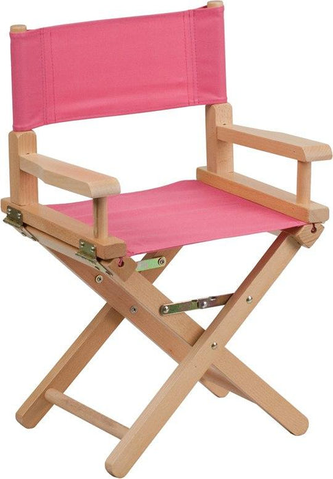 Flash Furniture TYD03-PK-GG Kid Size Directors Chair in Pink