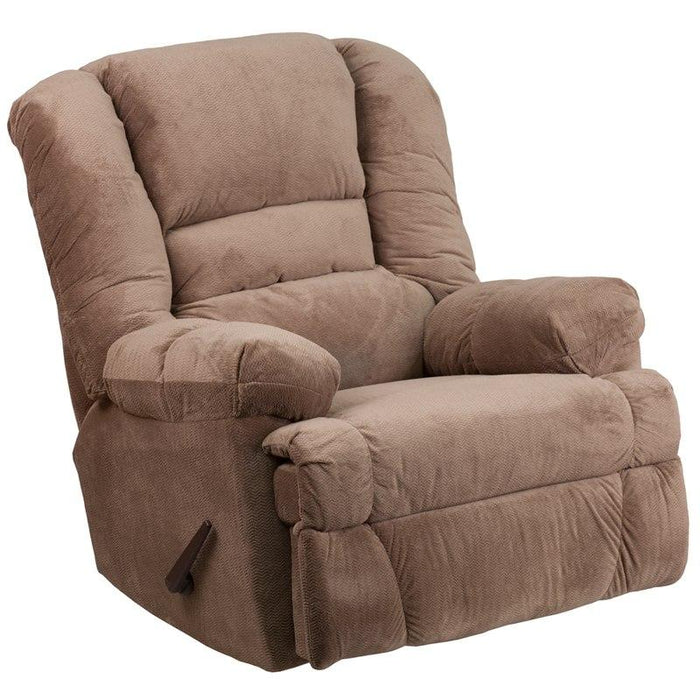 Flash Furniture WM-9830-801-GG Contemporary Dynasty Camel Microfiber Rocker Recliner