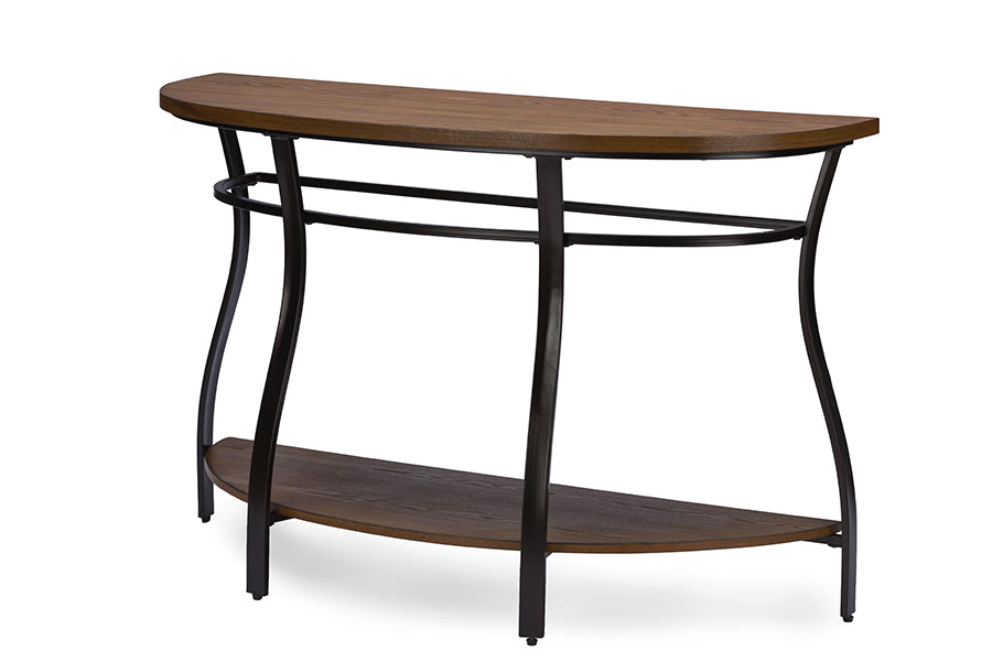 Wholesale interiors Newcastle Wood and Metal Console Table YLX-2682-ST