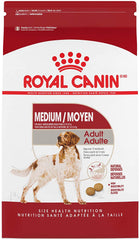 Royal Canin Medium Breed Adult Dry Dog Food, 30Lb Bag