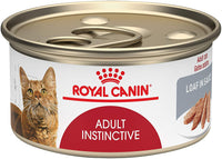 Royal Canin Feline Health Nutrition Adult Instinctive Loaf in Sauce Canned Cat Food,3oz Can (Case of 24)
