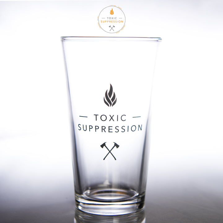 Toxic Suppression Pint Glass