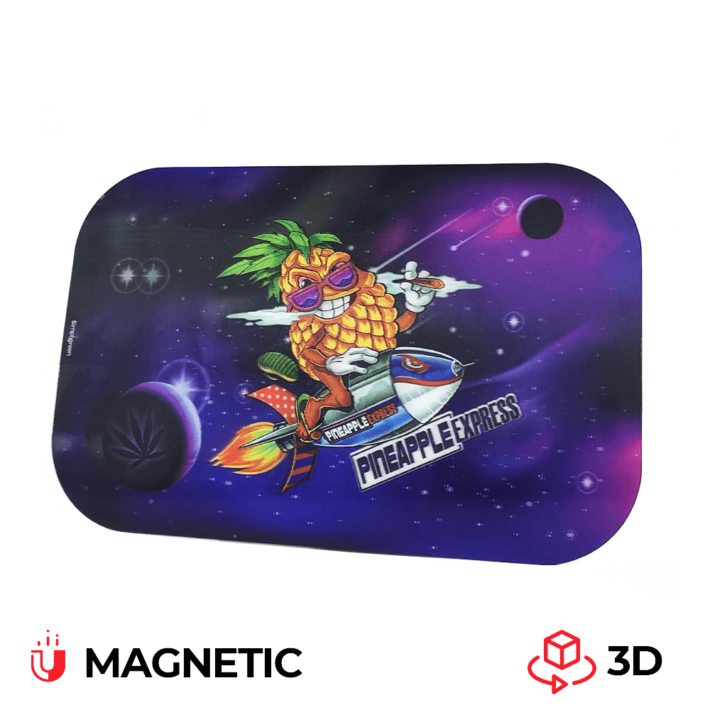 Best Buds Magnetic 3D Cover for Medium Pineapple Express Rolling Tray