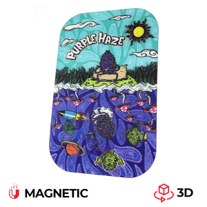 Best Buds magnetic 3D cover for medium Purple Haze Rolling Tray
