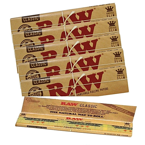 RAW Classic King-size Rolling Papers