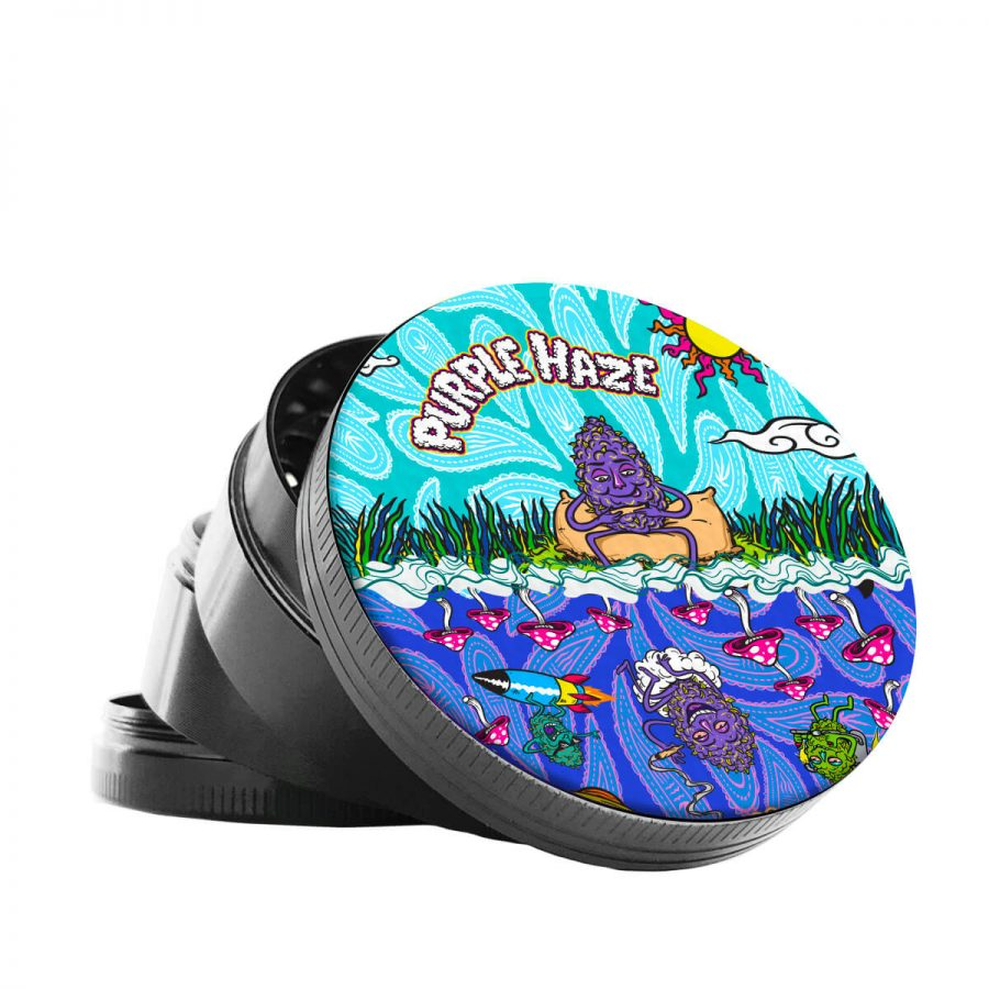 Best Buds 50mm 4-part Metal Purple Haze Grinder