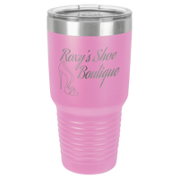 Personalized Tumbler, Insulated Tumbler, Laser Engraved Tumbler, Stainless Steel Mug - 30oz
