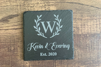 Personalized Slate Coasters