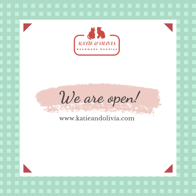 We are open, finally!