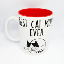 "Load image into Gallery viewer, Super Limited Edition Drinkware- Coffee Cup ""Best Cat Mom.Ever."" - Katie and Olivia Handmade Goodies"