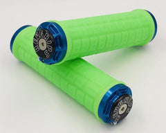 Revgrips Large 34mm Green Sleeve with Blue Clamp