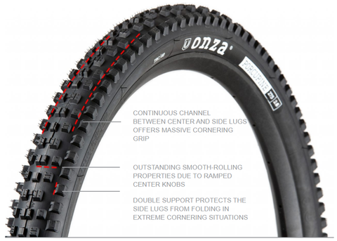 Onza Tire technology Porcupne